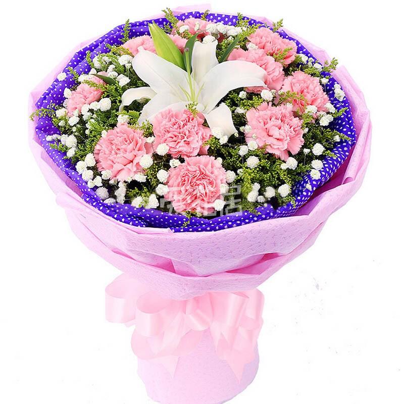 机场接人送花送什么花图片