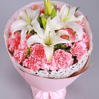 看病人送什么花