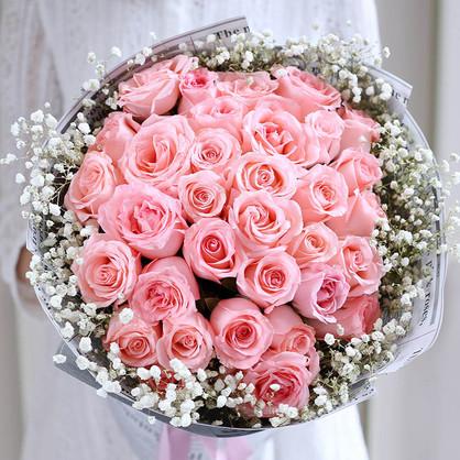 33朵玫瑰花语