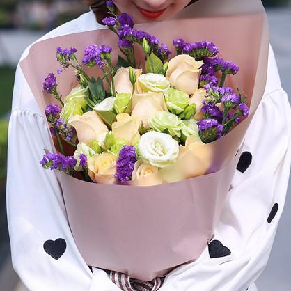 女儿18岁生日送花