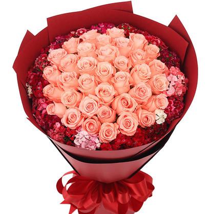 爱人生日送花