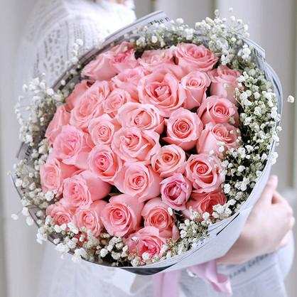 赠送闺蜜玫瑰适合的颜色