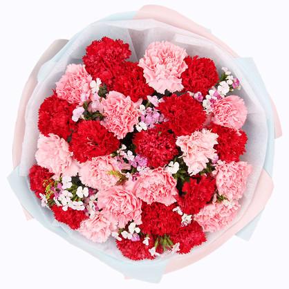 阿姨过生日送花