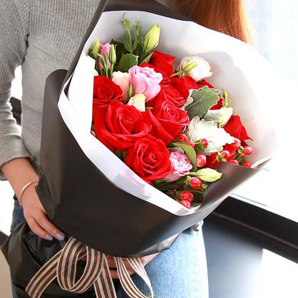 老公生日送花