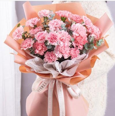 送妈妈向日葵好还是康乃馨